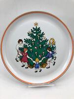 Vintage B&G Bing & Grondahl Christmas Tree Holiday Plate Platter Denmark 304