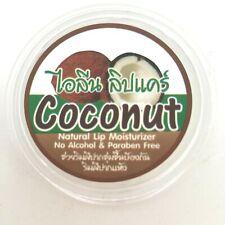 Coconut Lip Balm Care Organic Thai Natural Cold Moisture Treatments