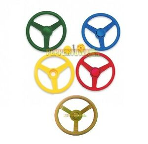 Cubbyhouse Steering Wheel Assorted Colours Play Area Playground Equipment