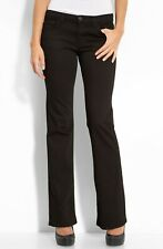 NWT J Brand Bailey in Shadow Black Perfect Rise Boot Leg Stretch Jeans 25 x 35