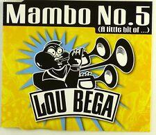 CD Maxi-Lou Bega-MAMBO NO. 5 (a little bit of...) - a4295