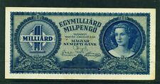HUNGARY - 1946 1,000,000 Pengo Circulated Banknote (B)