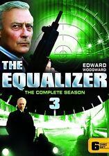 THE EQUALIZER COMPLETE SEASON 3 New Sealed 6 DVD Set