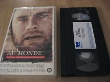 SEUL AU MONDE / CAST AWAY VHS FRENCH TOM HANKS HELEN HUNT CHRIS NOTH