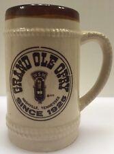 Grand Ole Opry WSM Since 1925 Mug Stein Nashville Tennessee TN Ceramic Stoneware