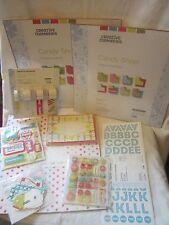 Creative Memories Power Pallet 12x12 Scrapbook Kit Candy Shop Paper Stickers