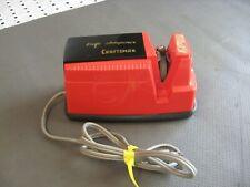 Vintage Red Craftsman knife sharpener Sears Model # 665-96101 Works