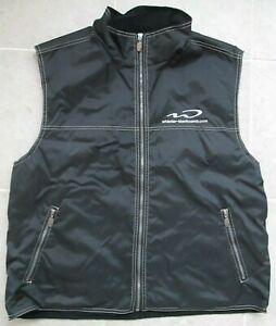 Boardroom Whistler Blackcomb Fleece-Lined Windproof Vest Size XL (Black) Skiing