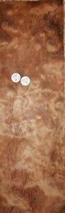 LARGE CONSECUTIVE SHEETS  OF BUBINGA VENEER 125 X 13 cm BB#2 MARQUETRY