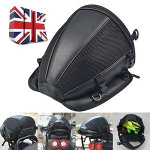 Motorcycle Tail Bag Motorbike Waterproof Extended Rear Seat Luggage Storage Bag