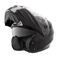Caberg Duke 2 Legend Negro, Blanco Moto Tapa Frontal Deslizable Casco de la Moto