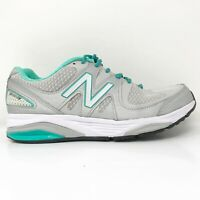 New Balance Womens 1540 V2 W1540SG2 Grey Blue Running Shoes Lace Up Size 7.5 4E