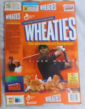 Tiger Woods Wheaties Cereal Box