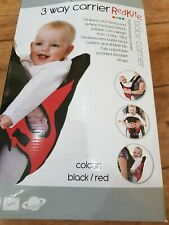 Red Kite 3-Way Baby Carrier In Box Never used