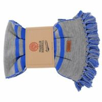 Sciarpa Maxi Uomo/Donna FRANKLIN & MARSHALL Made in Italy Grigio/Blu LU521