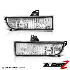 Crystal Clear Front Bumper Fog Light Lamp Kit 97-01 Honda Prelude Type-SH R VTEC