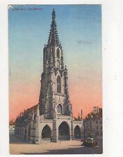 Bern Das Muenster 1933 Postcard Switzerland 389a