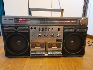 Boombox ghettoblaster vintage palladium anni 80