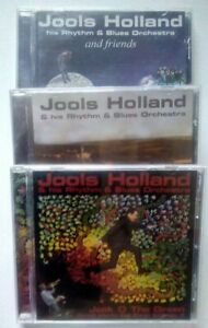 Jools Holland. Small World, Big Band Vol's I, II & III CDs (3).