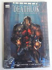 ESZ2539 Marvel Knights DEATHLOK the Demolisher HC by Charlie Huston & Lan Medina