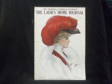 1907 MARCH LADIES' HOME JOURNAL MAGAZINE - GREAT ILLUSTRATIONS & ADS - ST 1663