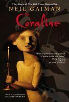 Coraline, Paperback by Gaiman, Neil; McKean, Dave (ILT), Like New Used, Free ...