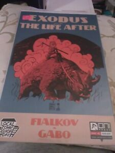 Exodus The Life After #1, Oni Press LCSD 2015, Francavilla Cover, NM