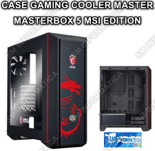 CASE PC GAMING ATX MASTERBOX 5 MSI EDITION MIDI TOWER CABINET PC MICRO ATX CASES