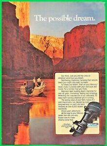 1982 MERCURY OUTBOARD ENGINE AD ~ THE POSSIBLE DREAM ~MOTOR BOATING