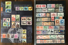 CHINA OLD STAMPS COLLECTION LOT ALBUM 16 PAGES !!