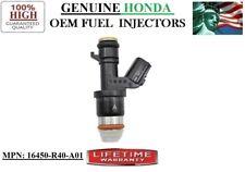 2012-2014 Honda CR-V 2.4L I4 Fuel Injector Single Genuine HONDA PN:16450-R40-A01