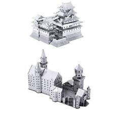 Metal Earth Model Kits SET of 2: Neuschwanstein Castle & Himeji Castle