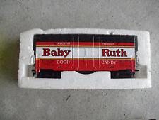 Vintage HO Scale Tyco Chug Chug Baby Ruth Hi Cube Box Car Unused