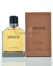 Armani Eau D'Aromes For Men By Giorgio Armani  Eau De Toilette 3.4 Oz 100 Ml ...