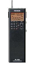 TECSUN PL360 PLL DSP Multi Band Radio with ETM FM/MW/SW/LW **FREE GIFT**