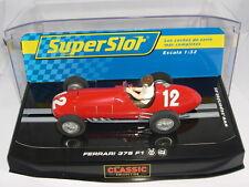 SUPERSLOT H2803 SLOT CAR FERRARI 375 F1 #12 SCALEXTRIC RU MB
