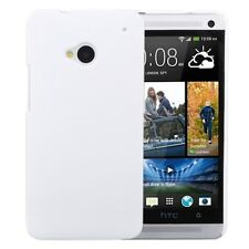 CUSTODIA HARD CASE RIGIDA ULTRA SLIM per HTC ONE M7 801N COVER GUSCIO BIANCO