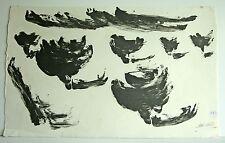 Gerald Coles PITTURA Anthony-Astratto 1-Firmato & Datato 1963 (Cat: Vaj)