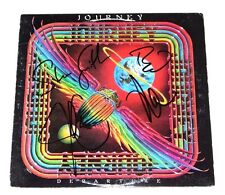 JOURNEY BAND SIGNED 'DEPARTURE' VINYL ALBUM COVER X4 w/COA PROOF NEAL SCHON
