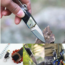 Outdoor Camping Mini Portable Pocket Cutting Cutter Knife Keychain Key Ring nb