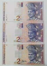 1996 -1999 MALAYSIA RM2 A.DON/ALI SIDE & CENTER @ UNC