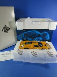 EXOTO RACING LEGENDS FORD GT40 MKIV, YELLOW, 1/18, MIB!
