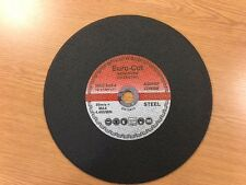 """Euro Cut 14"""" 355mm  Metal  Cutting  Discs PK of 25 For Chop Saw- DATE CODED 2022"""