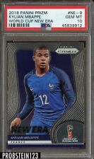 2018 Panini Prizm World Cup New Era Kylian Mbappe PSA 10 Gem Mint Rookie RC