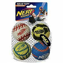 Nerf Sports Solid Tuff Blaster Balls 4pk