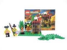 LEGO 6246 Crocodile Cage Pirate Islanders - Complete w/Instruction MINT!