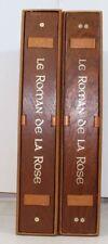 LORRIS Roman de la Rose illustrations Mincet mises couleurs Tirage limité 1982
