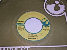 "7"" - Deep Purple Hallelujah & April Part 1 - 1969 # 2150"