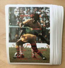 SPECIAL LOT Bhutan 1982 485 - World Cup Finalists - 25 Souvenir Sheets - MNH