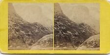 Glencoe Ecosse Scotland UK Stereo Vintage Albumine